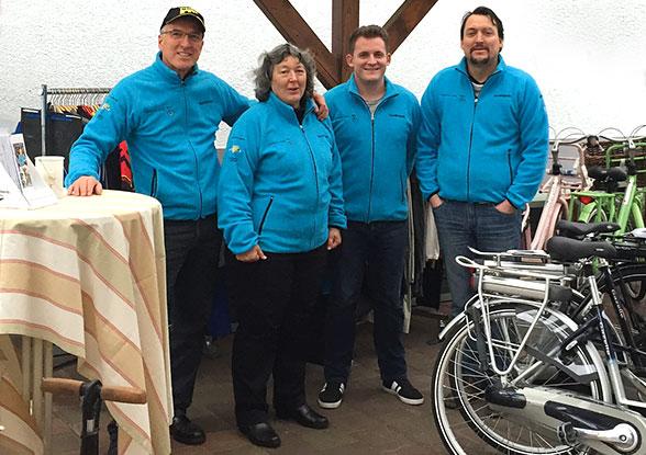 Das Team von Radsport Boos