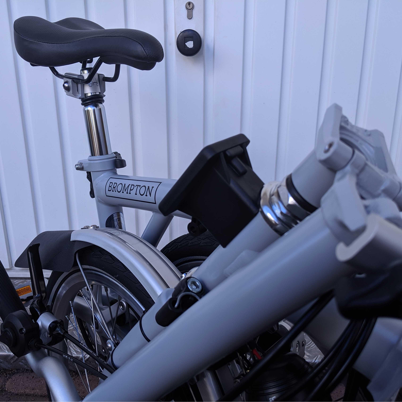 Brompton H6LD Grey Faltrad Detail